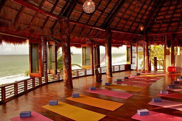 Beachfront Yoga Studo