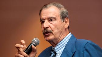Former President of Mexico Vicente Fox talks during a conference about the new approach of The North American Free Trade Agreement (TLCAN, also known as NAFTA) in Managua, Nicaragua May 15, 2017. REUTERS/Oswaldo Rivas