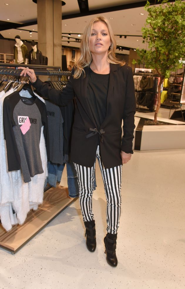 209b74c834 Kate Moss Attends UK Launch Of New Affordable Fashion Brand Reserved ...