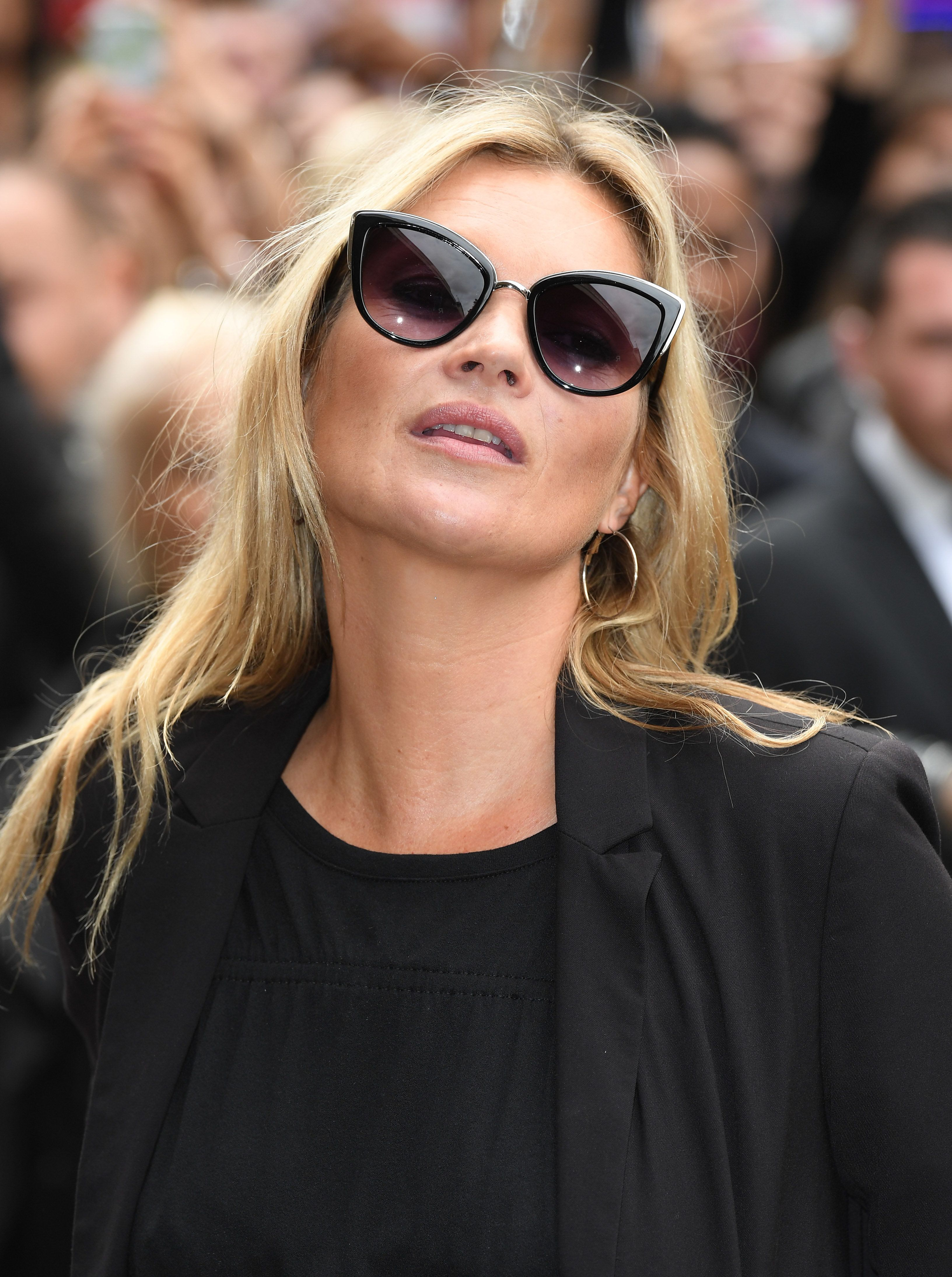 Kate Moss Attends UK Launch Of New Affordable Fashion Brand