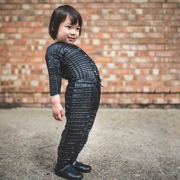 Incredible Clothing That Grows Along With Your