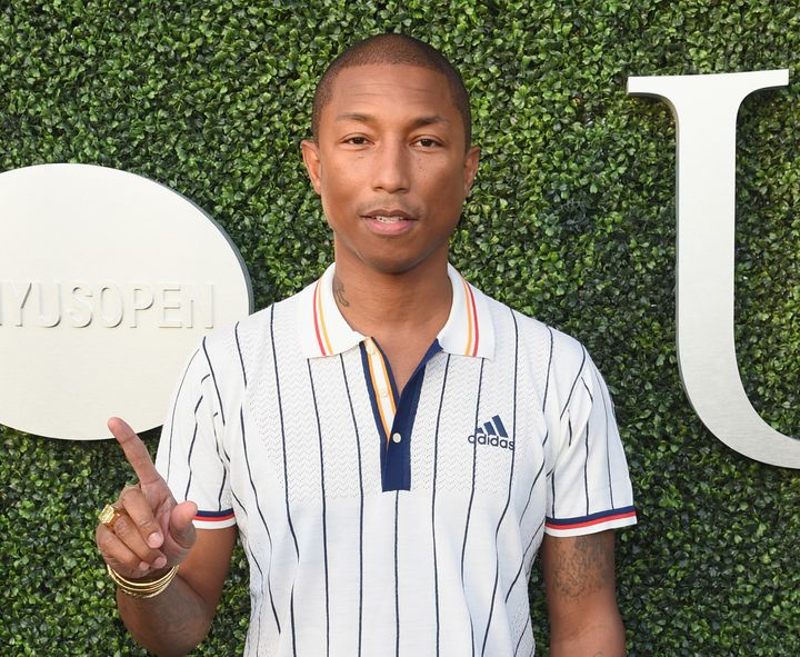 Pharrell Williams attends the 17th Annual USTA Foundation Opening Night Gala on Aug. 28.