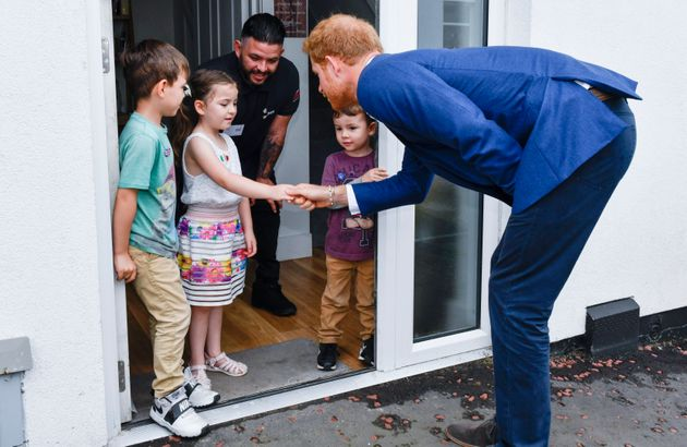 Lily-Anne and Prince Harry enjoying a