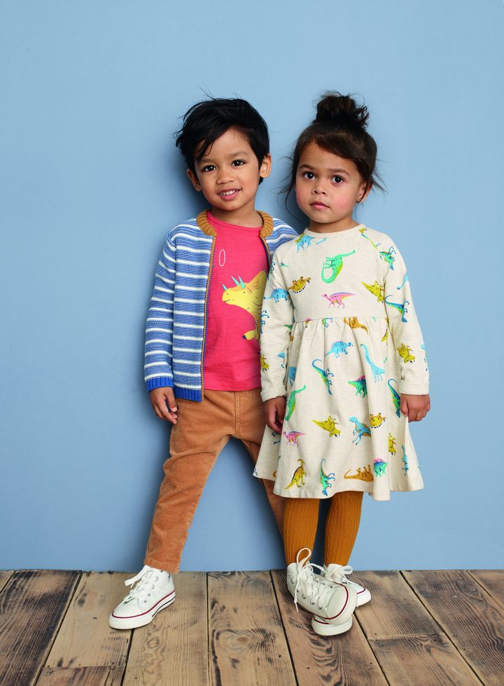 In addition to the changes in labels, John Lewis also launched a unisex baby and toddler wear line, which features dinosaur dresses, science shirts and more.