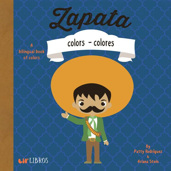 This little book of wonder will teach your little one colors in both Spanish and English, while educating them on Emilia