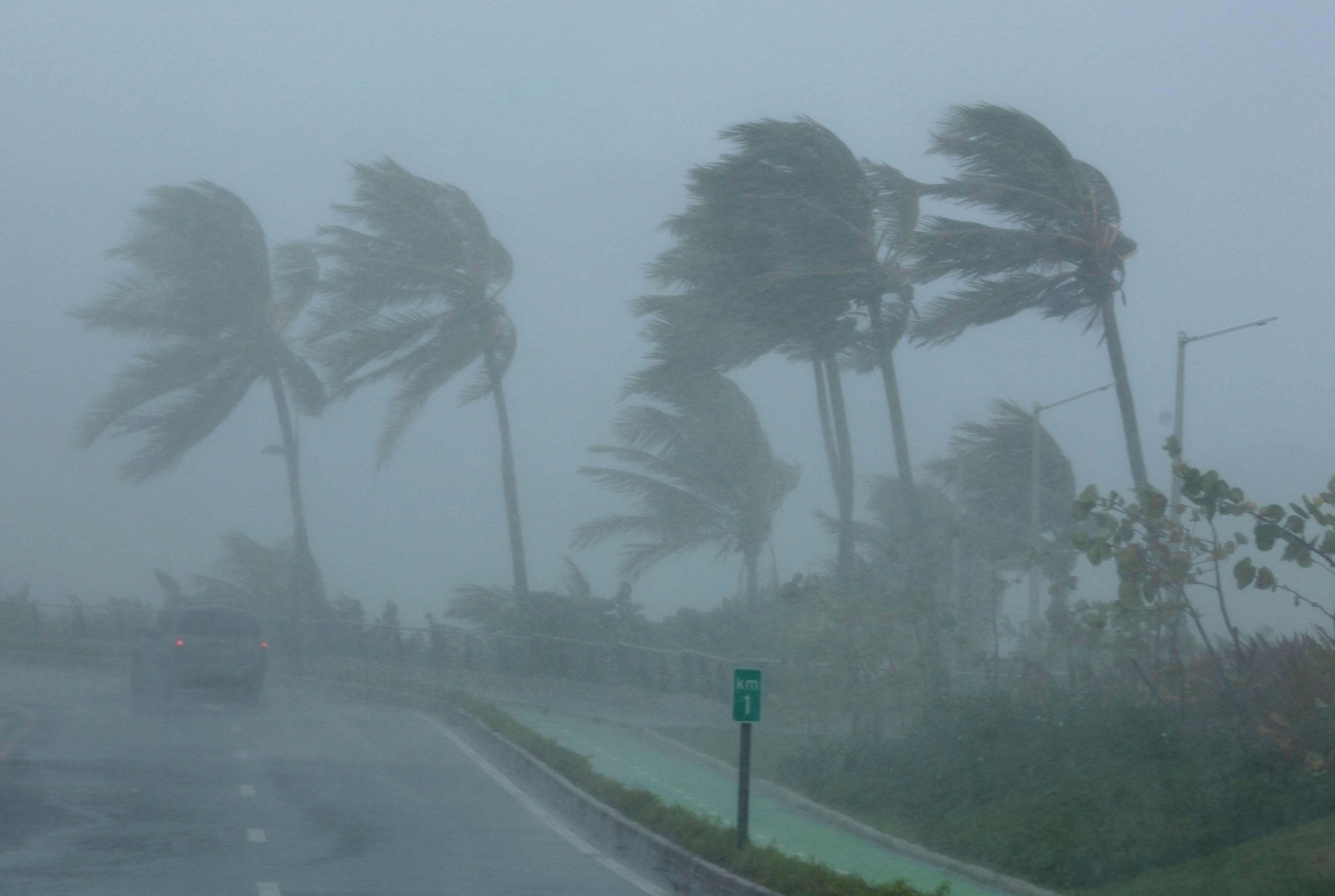 Irma Touches Down: Hurricane Tears Through Caribbean