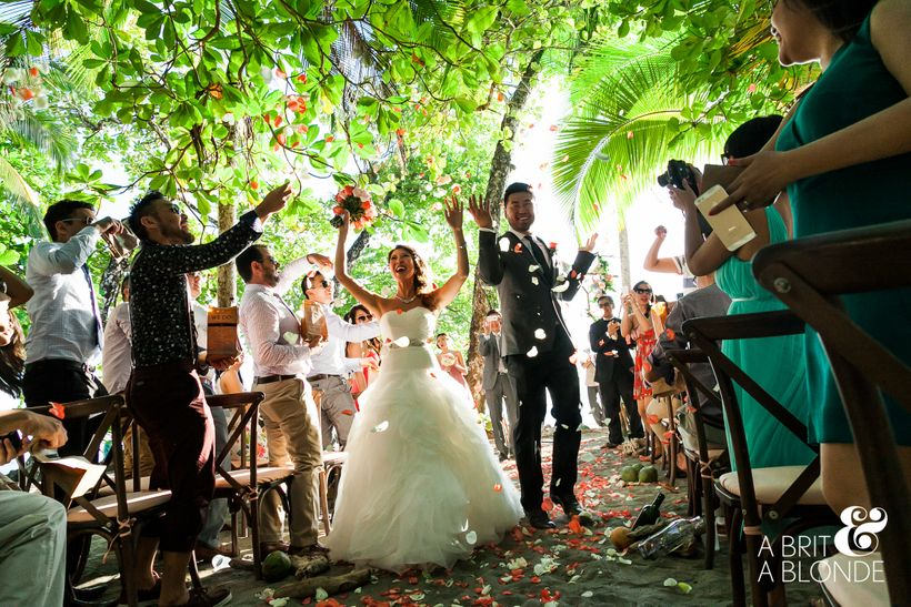 "What's more exciting than a destination wedding in<a rel=""nofollow"" href=""http://abritandablonde.com/"" target=""_blank""> C"