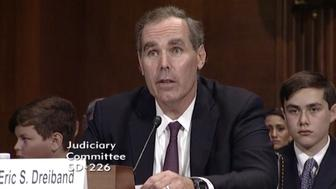 Eric Dreiband appears before the Senate Judiciary Committee