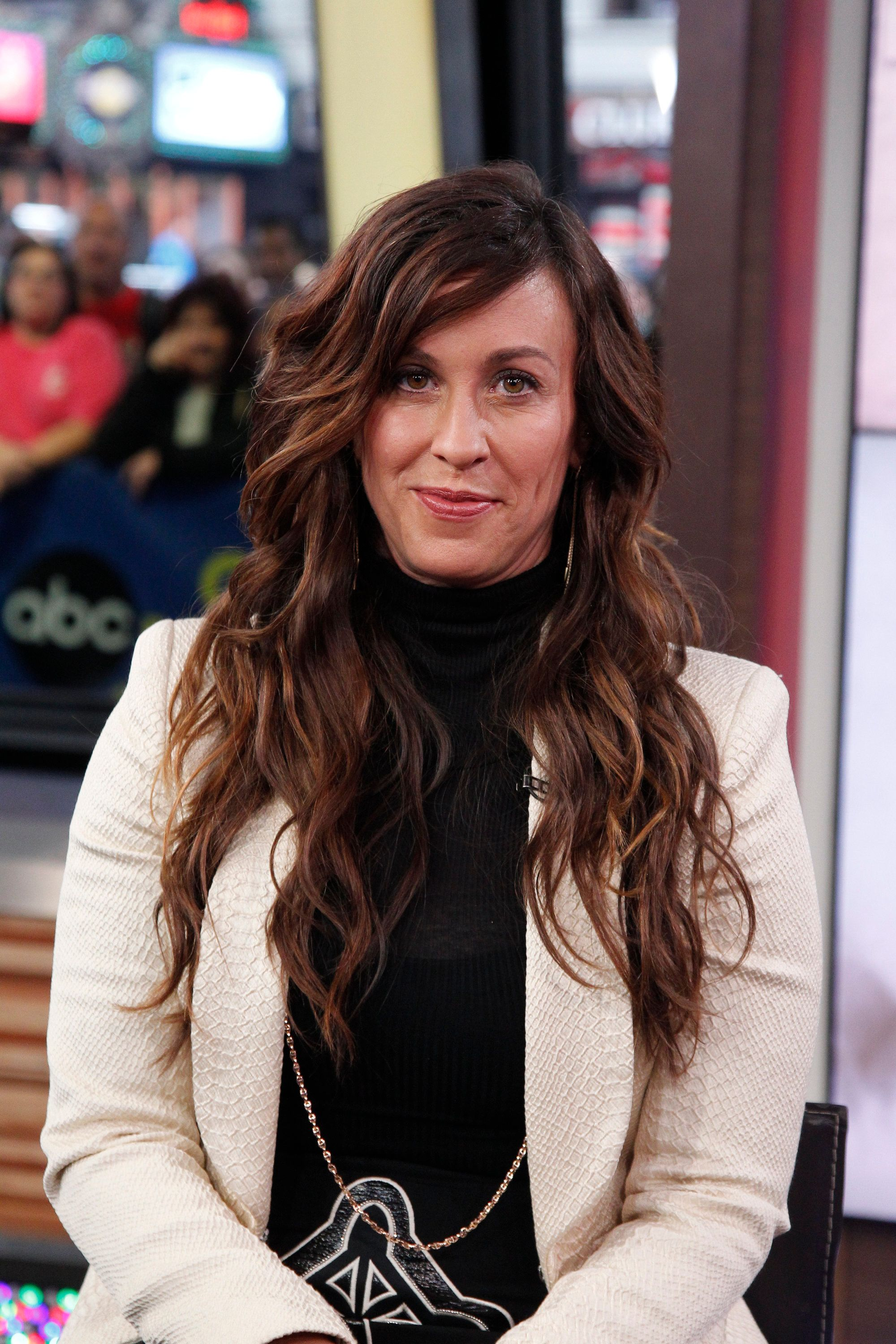 GOOD MORNING AMERICA - Grammy Award winning singer/songwriter Alanis Morisette performs on GOOD MORNING AMERICA, 11/2/15, airing on the ABC Television Network.   (Photo by Lou Rocco/ABC via Getty Images)