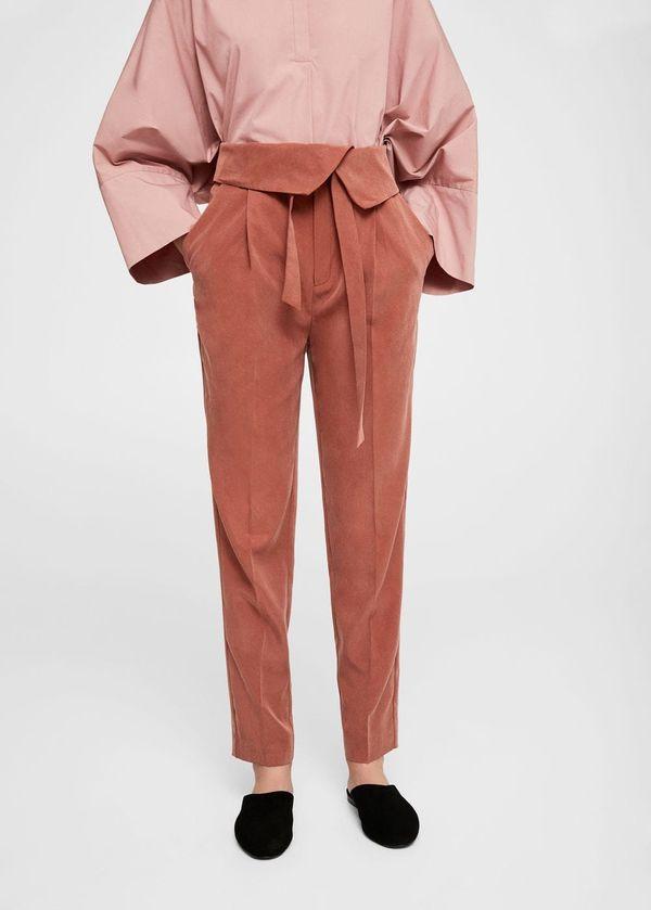 """<a href=""""http://shop.mango.com/us/women/pants-loose/bow-belt-trousers_11055031.html?c=79&n=1&s=prendas.familia;26,326"""