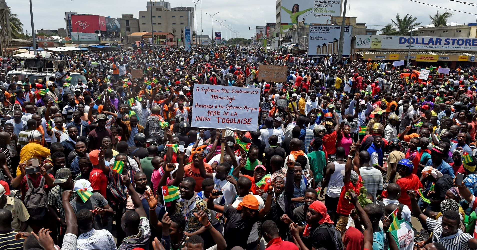 Massive Protests Call For An End To Togo's 50-Year ...
