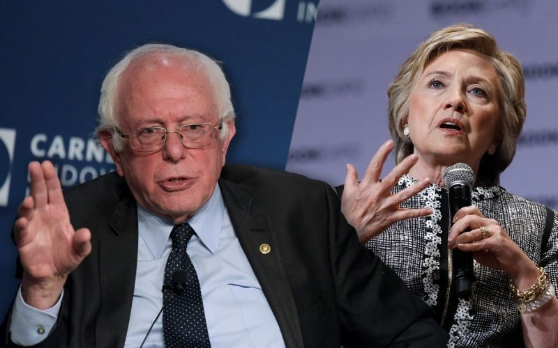 Hillary Clinton Blames Bernie Sanders For Losing to Donald Trump