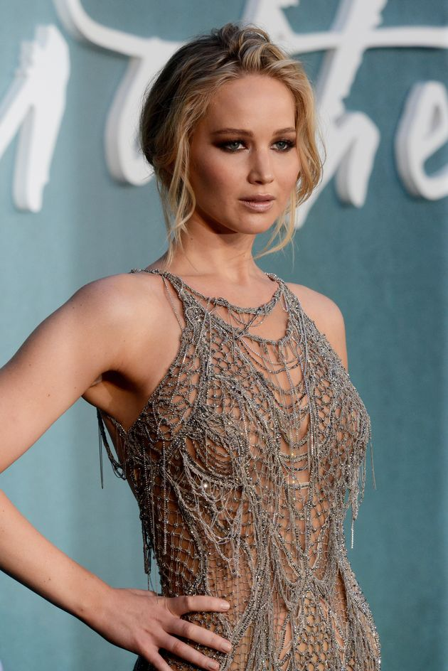 Jennifer Lawrence Is Sheer Perfection In This Silver