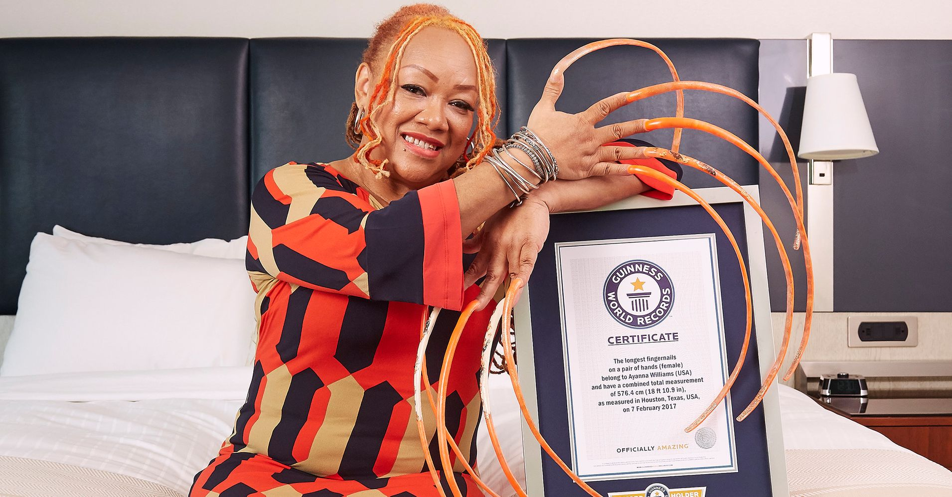 Guinness World Records 2018: Long Fingernails, Long Eyelashes And ...