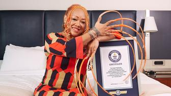 Ayanna Williams - Longest Fingernails
