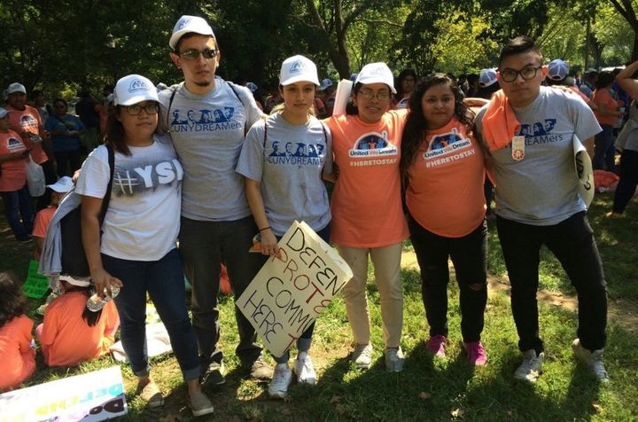 A group of CUNY Dreamers traveled from New York to Washington, D.C., hours before the Trump administration's announcement abo