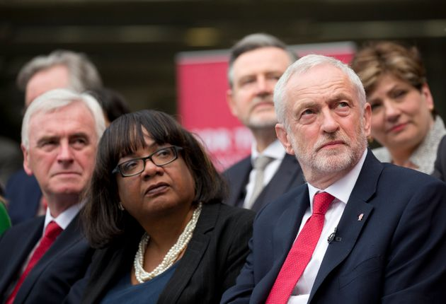 Diane Abbott and Jeremy