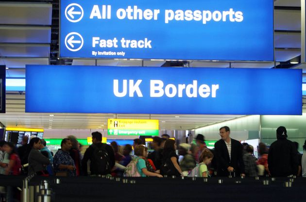 Heathrow border