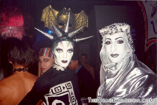 Kabuki and Keda at the Limelight in 1993.