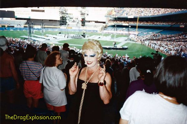 Chris Tanner at Yankee Stadium 1994
