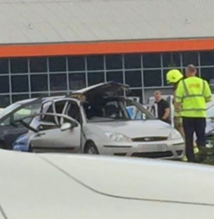 Air Freshener Causes Car To Explode In B&Q Car