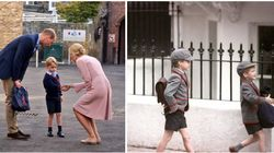 Prince George Photographed On First Day Of School In