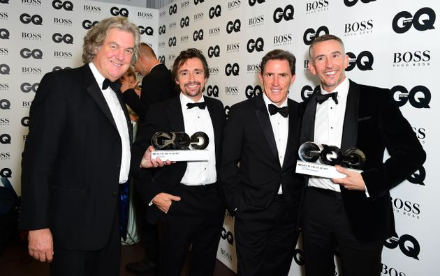 With James May, Rob Brydon and Steve