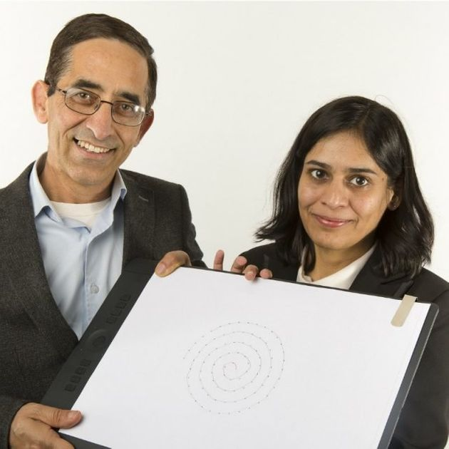 Professor Dinesh Kumar and PhD researcher Poonam