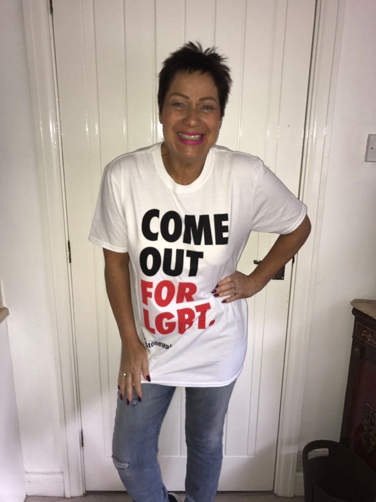 Denise Welch, Amanda Holden And Rylan Lead Support For Stonewall's New 'Come Out For LGBT'