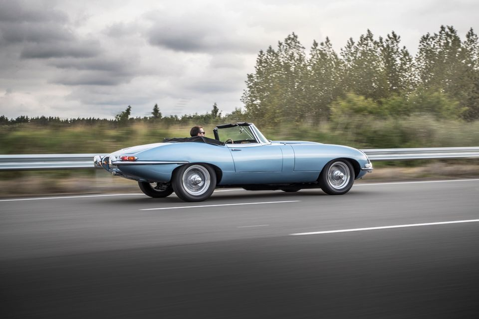 Jaguar's E-Type Zero Is A Classic Car With An Electric