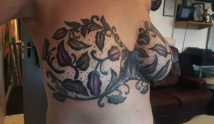 A closer look atthe tattoo.