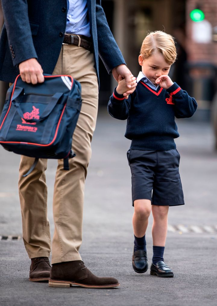 The first day of school ishere!