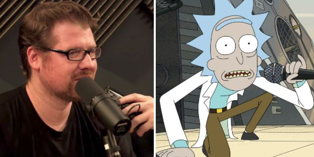 """Rick and Morty"" co-creator Justin Roiland, who voices the character of Rick Sanchez, prank called Joel Osteen's church to&nb"