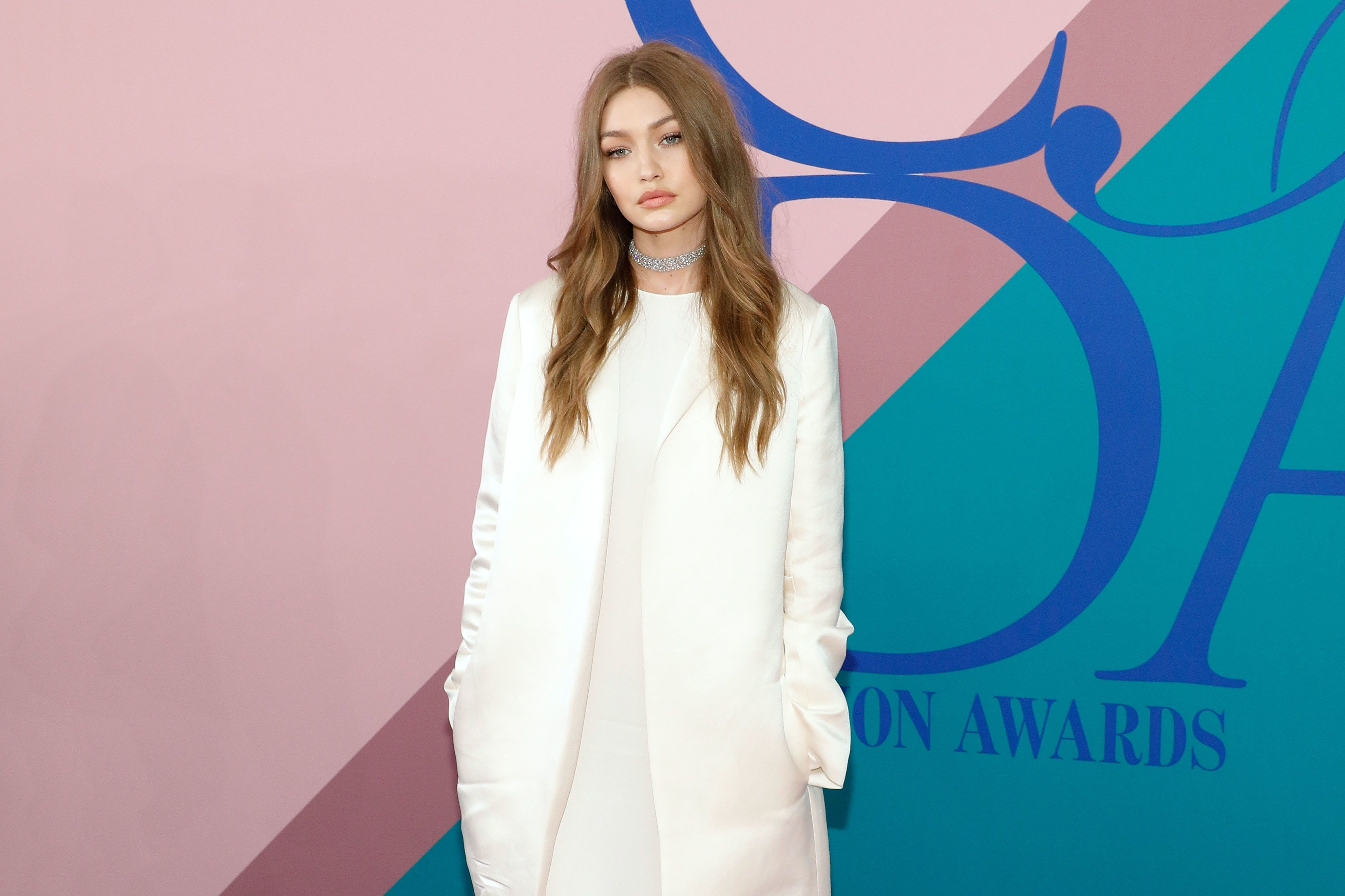 NEW YORK, NY - JUNE 05:  Gigi Hadid attends the 2017 CFDA Fashion Awards at Hammerstein Ballroom on June 5, 2017 in New York City.  (Photo by Taylor Hill/FilmMagic)