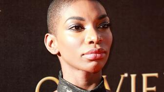 LONDON, ENGLAND - APRIL 09:  Michaela Coel attends The Olivier Awards 2017 at Royal Albert Hall on April 9, 2017 in London, England.  (Photo by Fred Duval/FilmMagic)