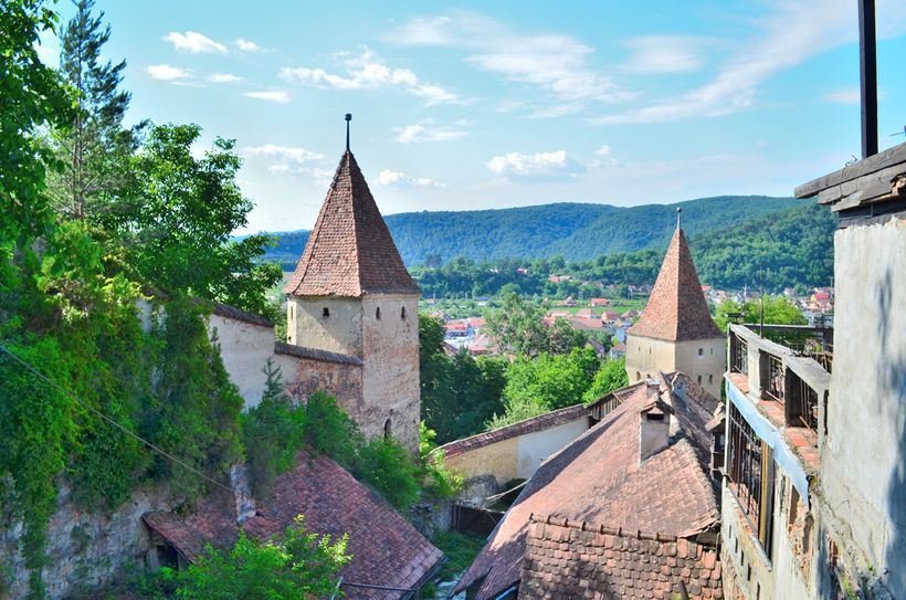 Sighisoara, birthplace of Vlad Dracul