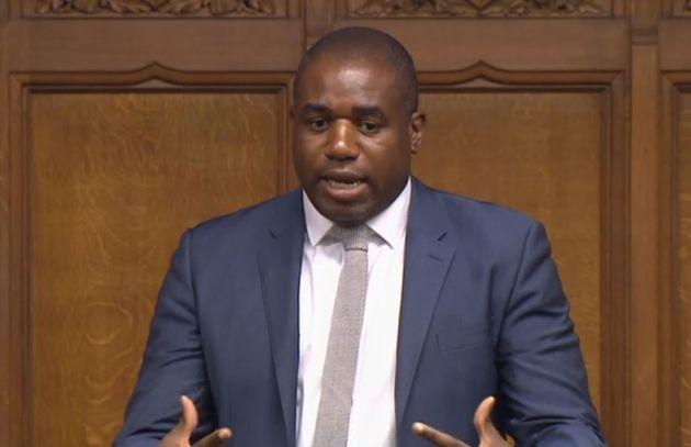 David Lammy criticised the criminal justice for not recording the data that could explain why the number...
