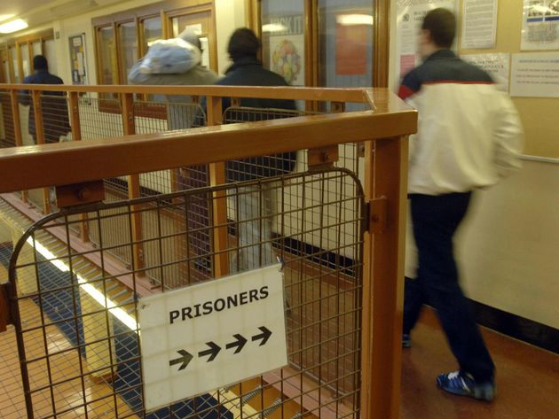 Belmarsh Prison in March, 2006, when the chief inspector of prisons Anne Owers said it was 'full stretch'...