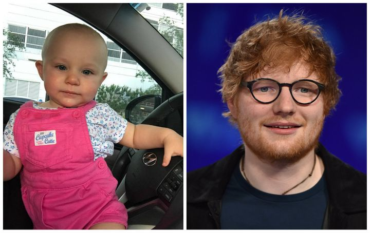 Cooper Sheeran Smith is an almost 1-year-old named after singer Ed Sheeran.
