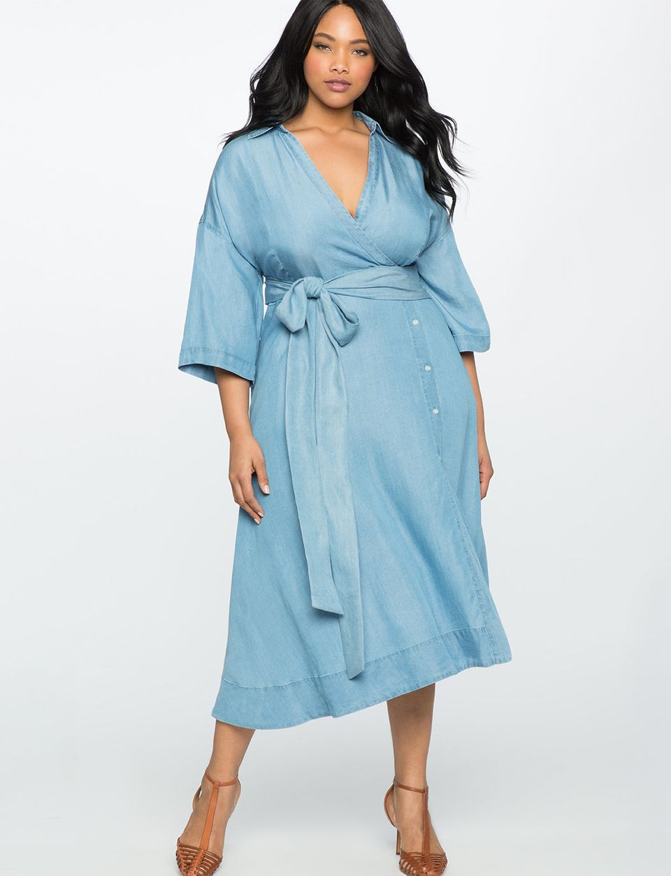 ff76ce4acc5 28 Button Down Dresses And Skirts For Plus Size That Won t Gape ...