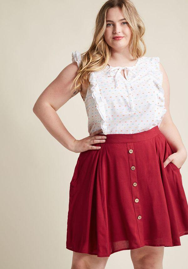 "<a href=""https://www.modcloth.com/shop/skirts/you-sassy-thing-skater-skirt/152904.html?dwvar_152904_color=BLK&cgid=skirts"