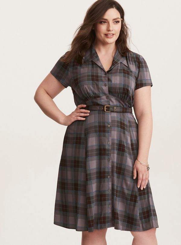 28 Button Down Dresses And Skirts For Plus Size That Won T
