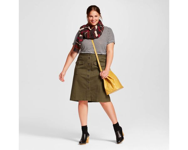 """<a href=""""https://www.target.com/p/women-s-plus-size-button-front-midi-skirt-who-what-wear-153/-/A-51109124"""" target=""""_blank"""">S"""