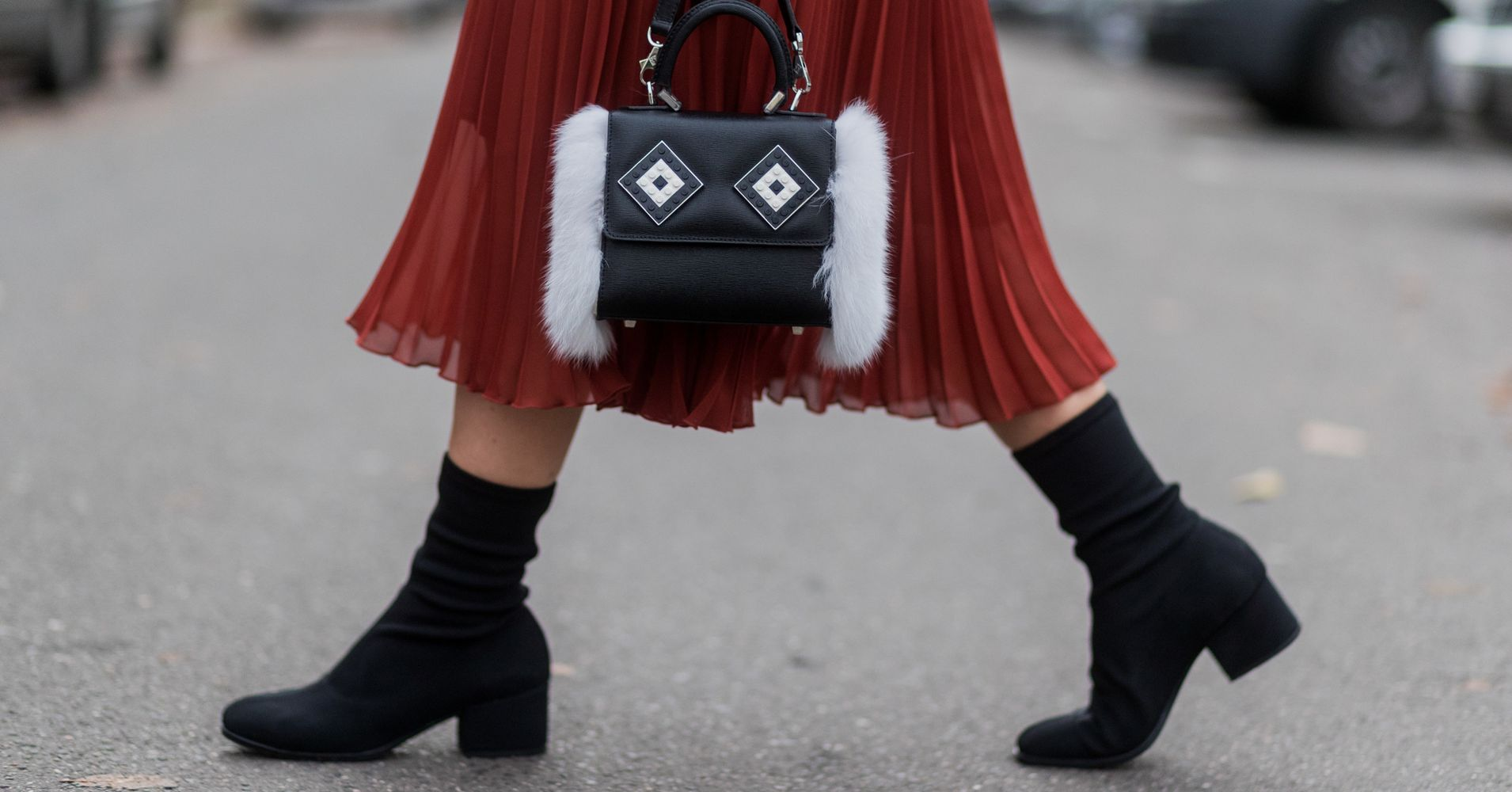 what shoes should you wear with midi skirts huffpost