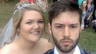 Hugo Cornellier has taken a selfie every day from the time he was 12 to his wedding to wife Juliana