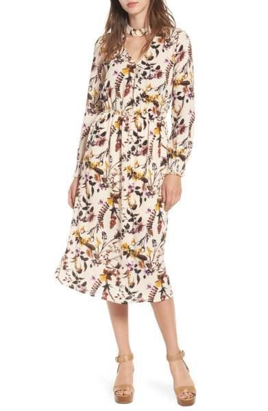 "Shop it <a href=""http://shop.nordstrom.com/s/love-fire-gigi-floral-surplice-midi-dress/4697269?origin=keywordsearch-personali"