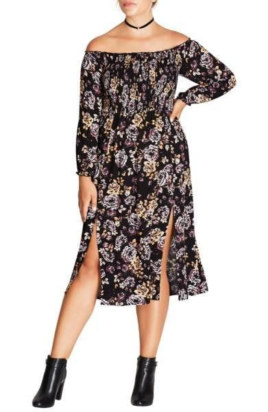 "Shop it <strong><a href=""http://shop.nordstrom.com/s/city-chic-floral-print-dress-plus-size/4687878?origin=keywordsearch-pers"