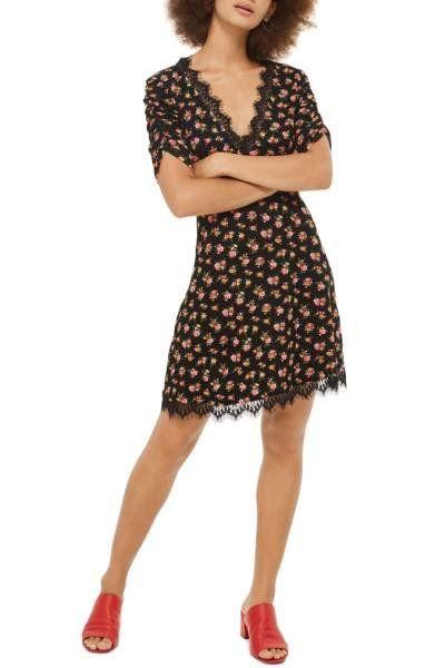 "Shop it <a href=""http://shop.nordstrom.com/s/topshop-floral-tea-dress/4744758?origin=keywordsearch-personalizedsort&fashi"
