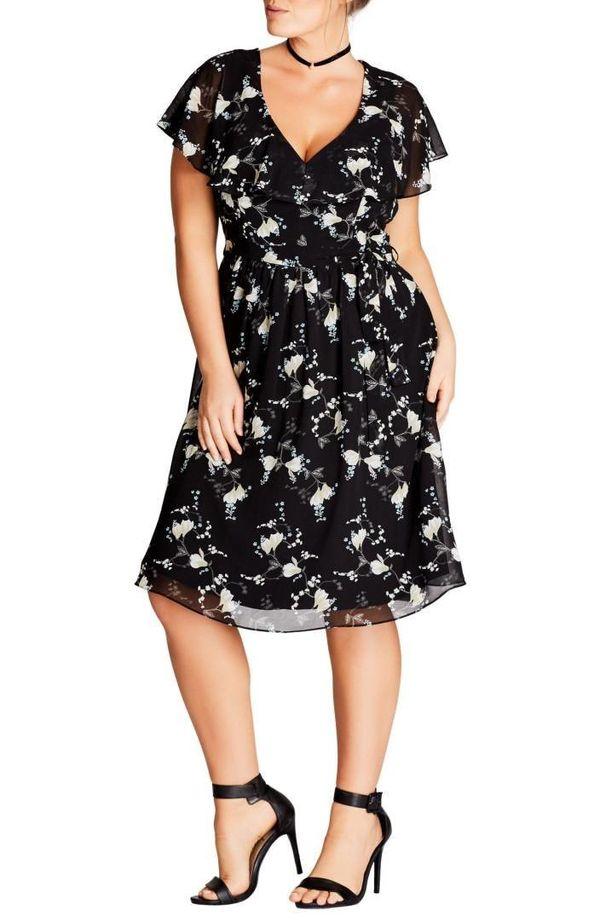 "Shop it <strong><a href=""http://shop.nordstrom.com/s/city-chic-climbing-blossom-dress-plus-size/4719255?origin=coordinating-4"