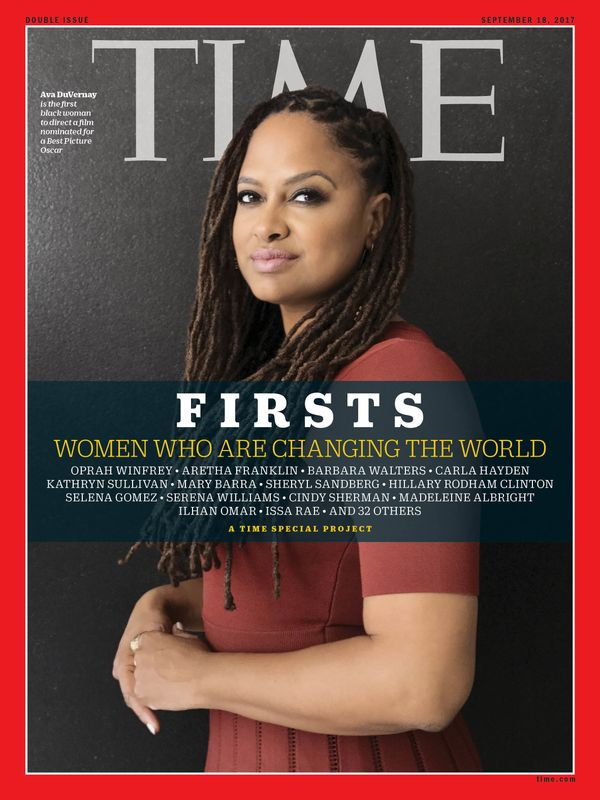 DuVernay is the first black woman todirect a film nominated for an Academy Award for Best Picture.